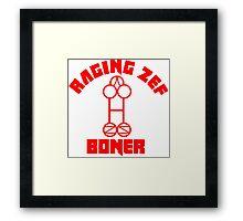 Die Antwoord Raging Zef Boner Framed Print