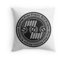Coiler Throw Pillow