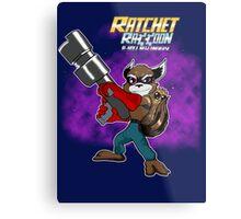 Ratchet Racoon Metal Print