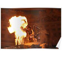 Pyrotechnics Poster