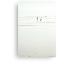 White Waves Canvas Print
