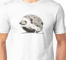 Hedgehog watercolour and ink Unisex T-Shirt