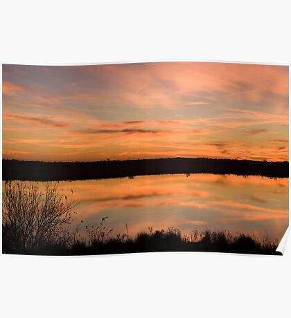 Natchitoches Sunset Poster