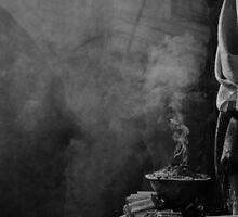 old city smoke by Victor Bezrukov