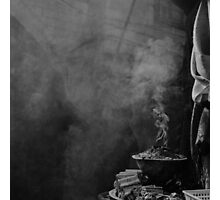 old city smoke Photographic Print