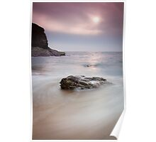 Bedruthan Rocks, Cornwall, England Poster