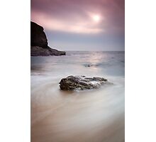 Bedruthan Rocks, Cornwall, England Photographic Print