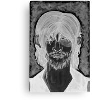 Inverted Daryl Canvas Print