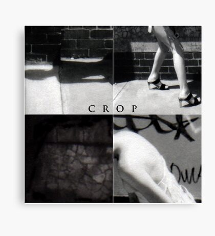 cropping is for farmers Canvas Print