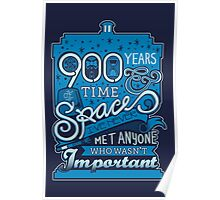 900 Years of Time & Space Poster