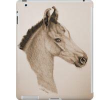 """Precious Little One"" - Sepia iPad Case/Skin"