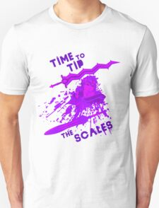 time to tip the scales! T-Shirt