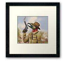 Cowboys Never Cry Framed Print