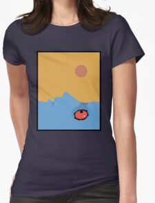 Fantastic Planet - Eyes Womens Fitted T-Shirt