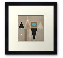 Geometric/A. 01 Framed Print