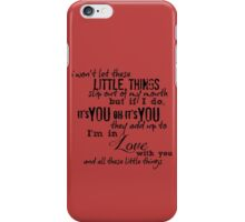 Little Things iPhone Case/Skin
