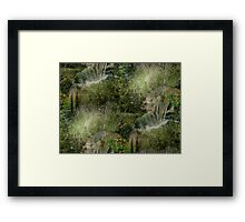 In a Meditation  On the lord     Framed Print