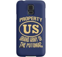 Property Grand Army of The Potomac Gold Samsung Galaxy Case/Skin