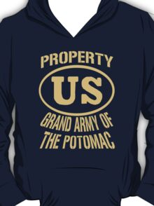 Property Grand Army of The Potomac Gold T-Shirt