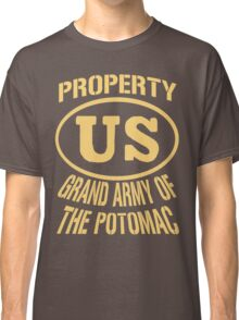 Property Grand Army of The Potomac Gold Classic T-Shirt
