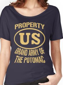 Property Grand Army of The Potomac Gold Women's Relaxed Fit T-Shirt