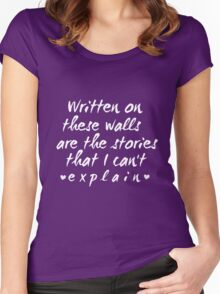 """""""I can't expliain""""  Women's Fitted Scoop T-Shirt"""