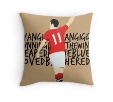 Ryan Giggs Ryan Giggs Throw Pillow