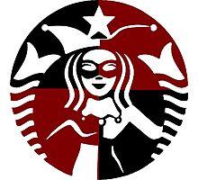 Quinn Coffee (Black+Red) Photographic Print