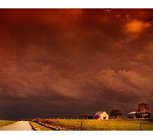 heavy skies Photographic Print