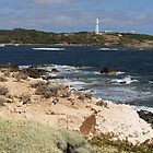 Entrance to Currie Harbour King Island Tasmania by Peterzphotoz