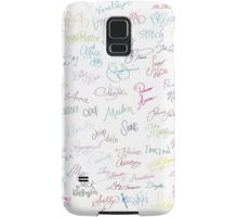 Disney Autographs Samsung Galaxy Case/Skin