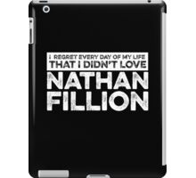 Regret Every Day - Nathan Fillion (Variant) iPad Case/Skin