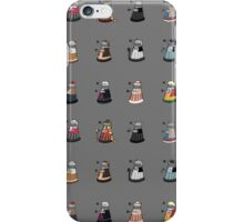 Daleks in Disguise Pattern iPhone Case/Skin