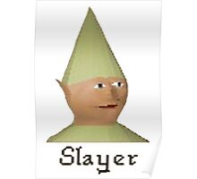 Slayer Gnome - Runescape Poster