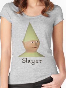 Slayer Gnome - Runescape Women's Fitted Scoop T-Shirt