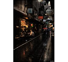 Morning Coffee in Melbourne Photographic Print