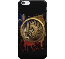 French Foreign Legion Para w Background iPhone Case/Skin