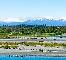West Coast view towards Southern Alps (NZ) by amko