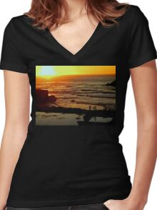 Pacific Coast San Francisco Women's Fitted V-Neck T-Shirt