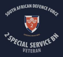 SADF 2 Special Service Bn (2SSB) Veteran T-Shirt