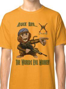 Rock Ape = Evil Monkey Classic T-Shirt