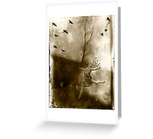 Dancing with the Moonlit Knight Greeting Card