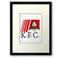 Jesus King Friend Christ Framed Print