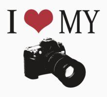 I Love My Camera ll by Sharon Stevens