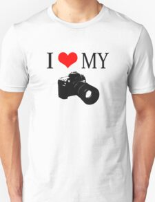 I Love My Camera ll T-Shirt
