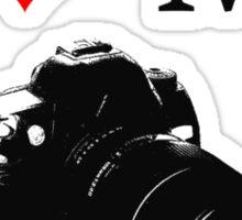 I Love My Camera ll Sticker