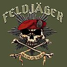 Feldjager Skull w/ Prussian Star by Larry Oates