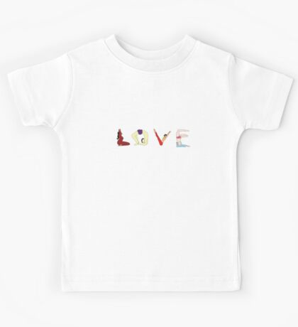 LOVE YOGA Kids Tee