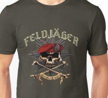 Feldjager Skull w/ Prussian Star Unisex T-Shirt