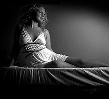 Girl in white by Malin Nordlund